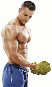 vegan bodybuilder photo