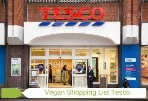 Vegan Shopping List Tesco Image