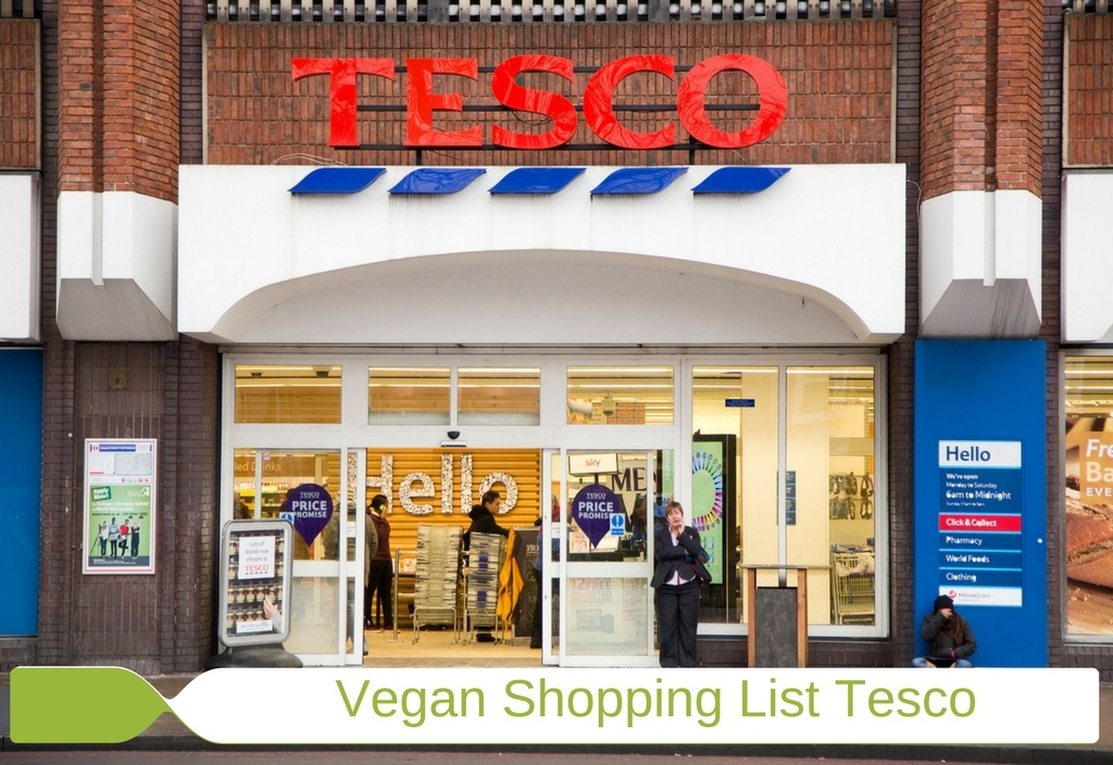 Vegan Shopping List Tesco Image