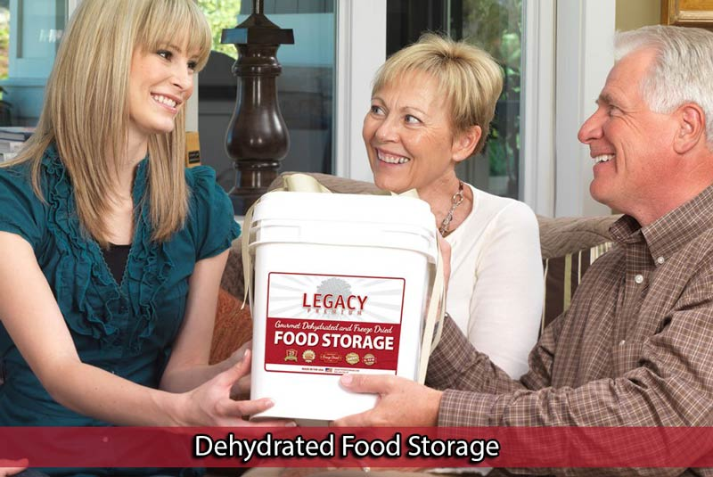 Dehydrated Food Storage