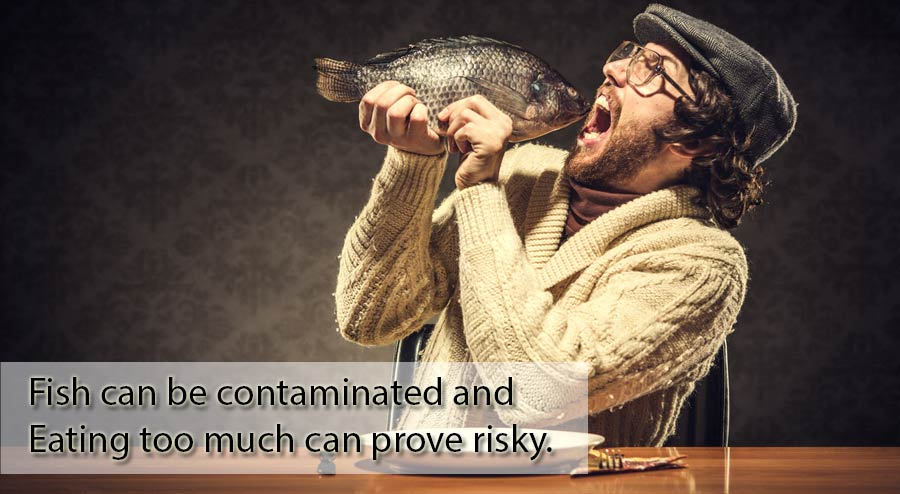 Fish eating too much can prove risky