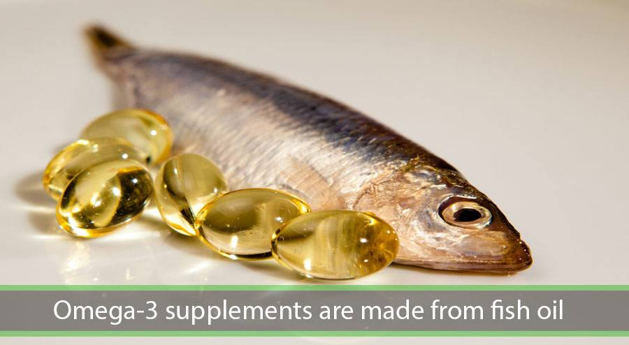 omega-3 supplements are made from fish oil