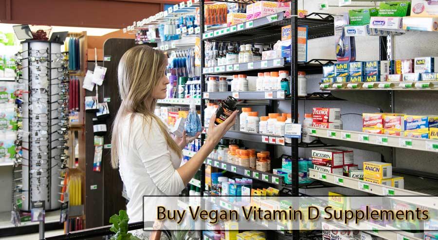 Buy Vegan Vitamin D Supplements