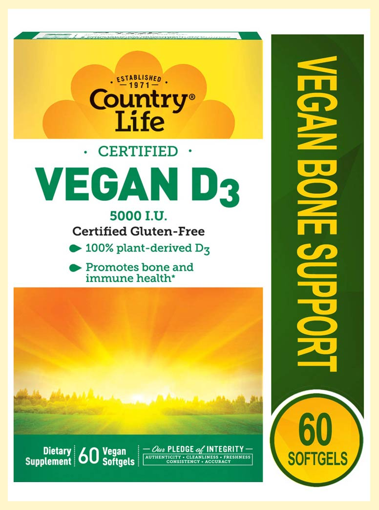 Country Life Vegan D3