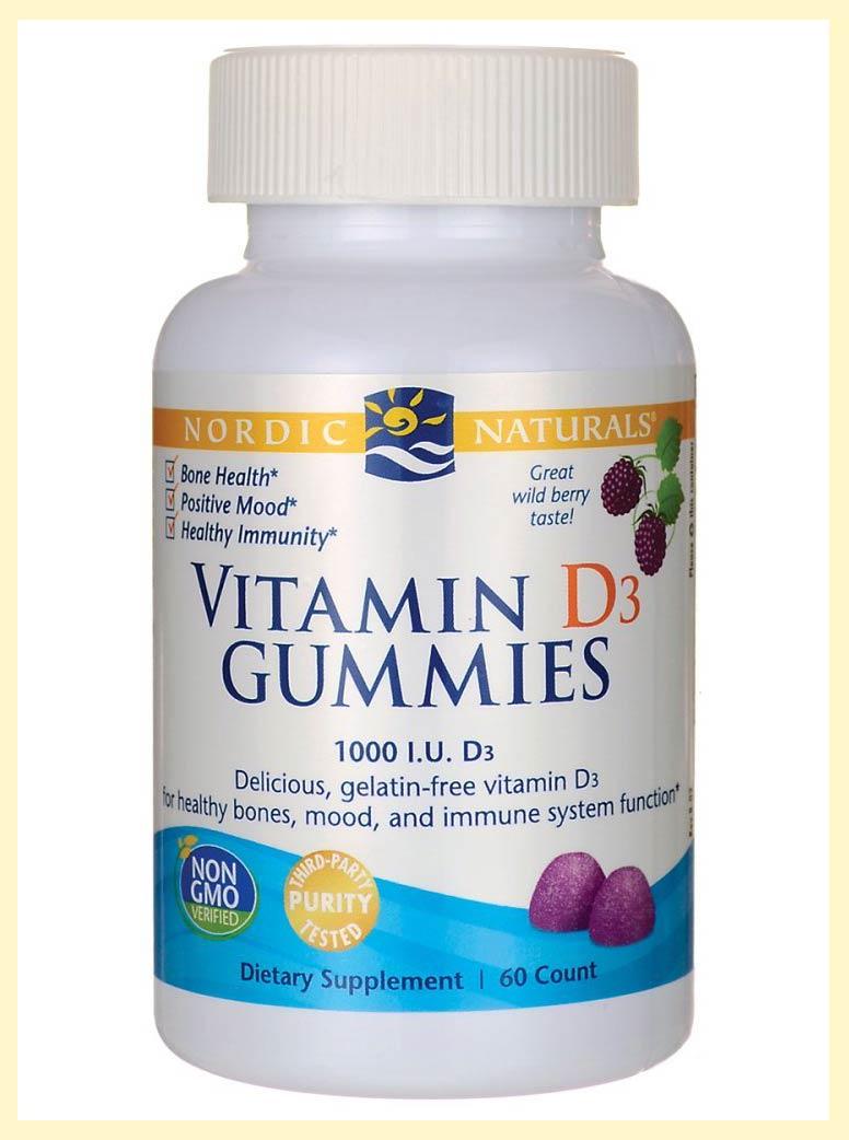 Nordic Naturals Vitamin D3 Gummies