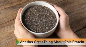 Another great thing about chia protein