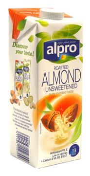 Alpro Roasted Almond Unsweetened Milk