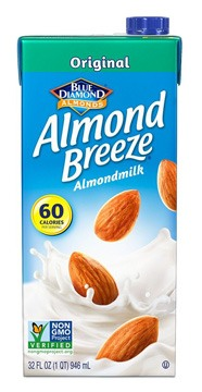Blue Diamond Almond Breeze Almond Milk