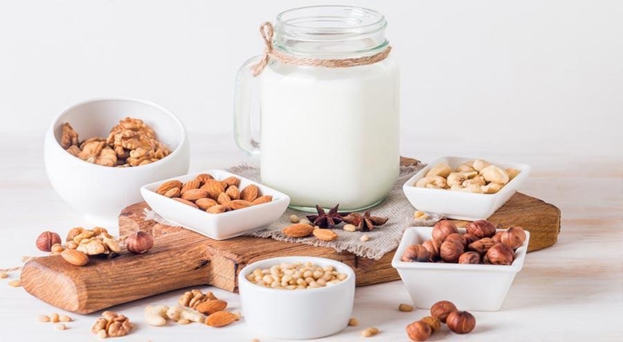 plant-based milk alternatives for drinking